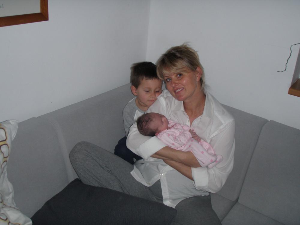 Doma s mámou a bráchou