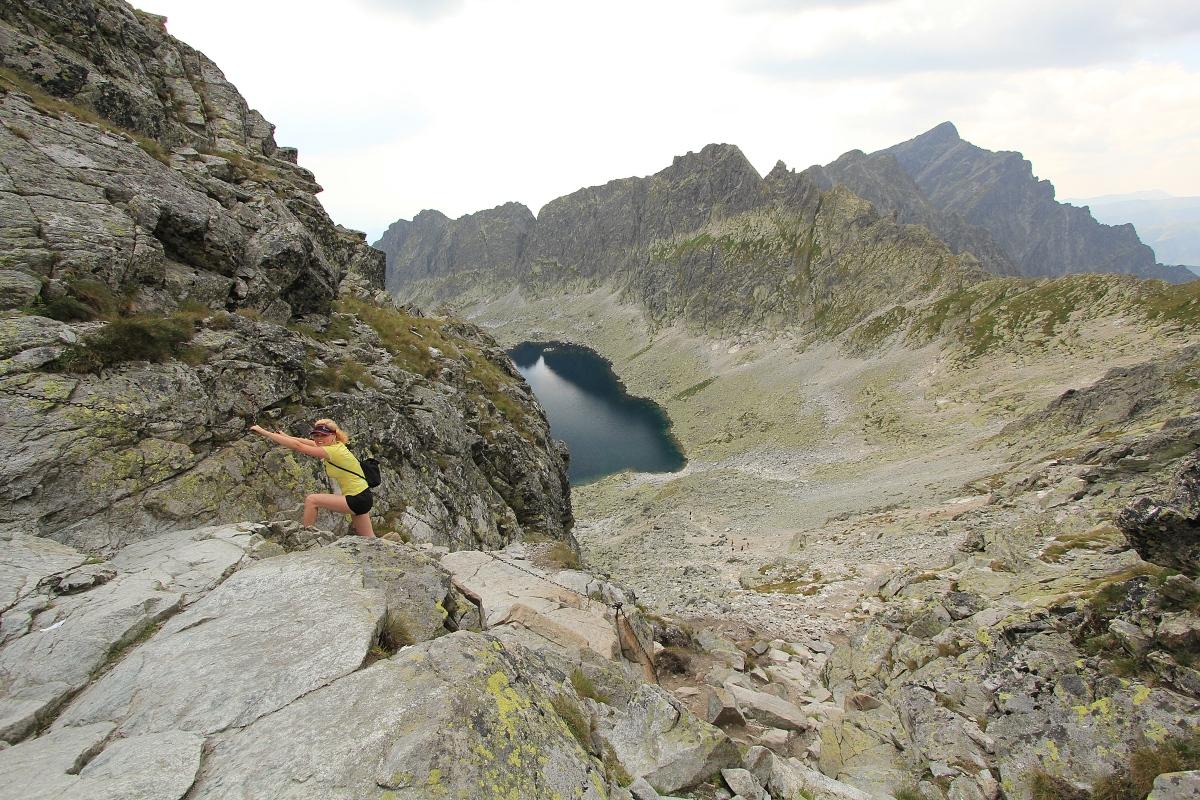 Bystrá lávka 2 300 m.n.m., Furkotská dolina