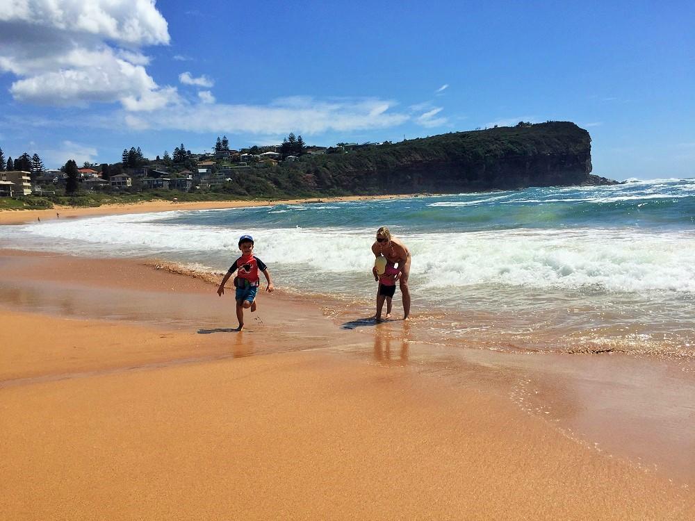 Na pláži u domu - Mona Vale