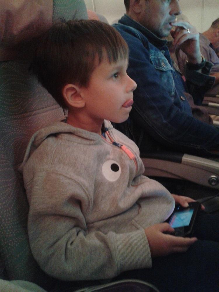 Gambler v letadle :-)