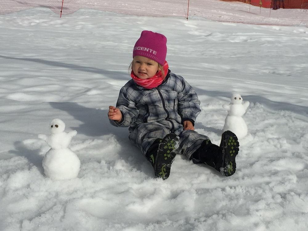 Mezi sněhulákama