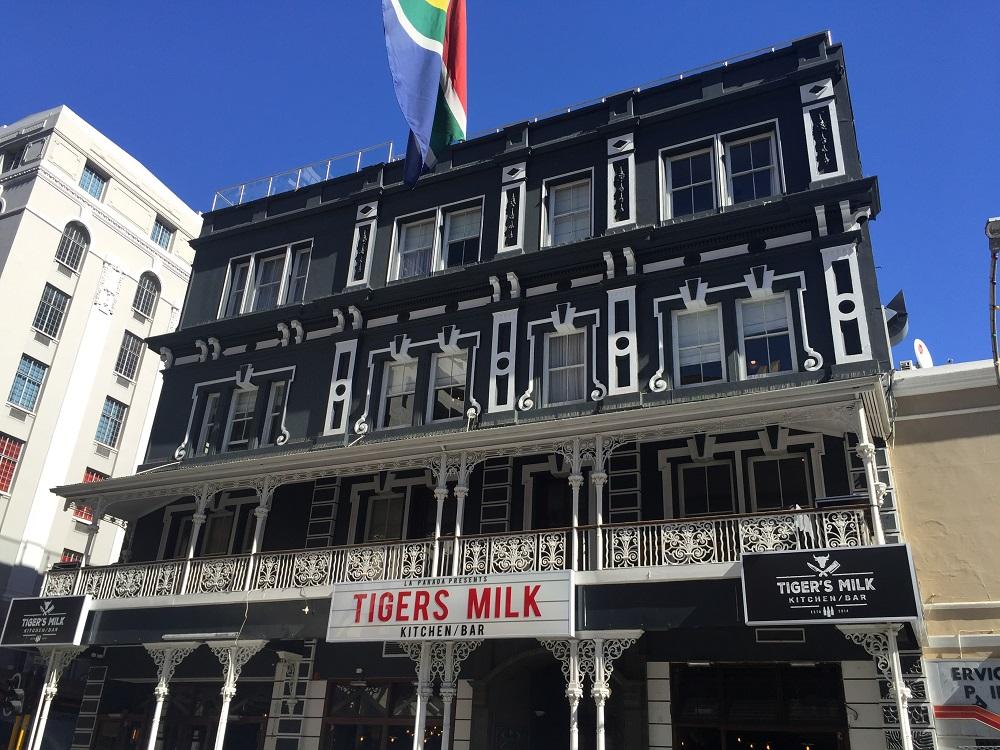 Typická budova ve viktoriánské čtvrti