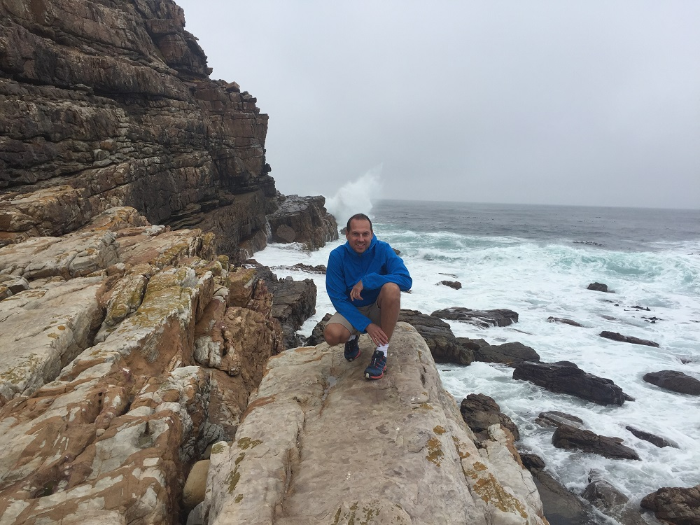 Místo setkání 2 oceánů - atlantik a indický oceán