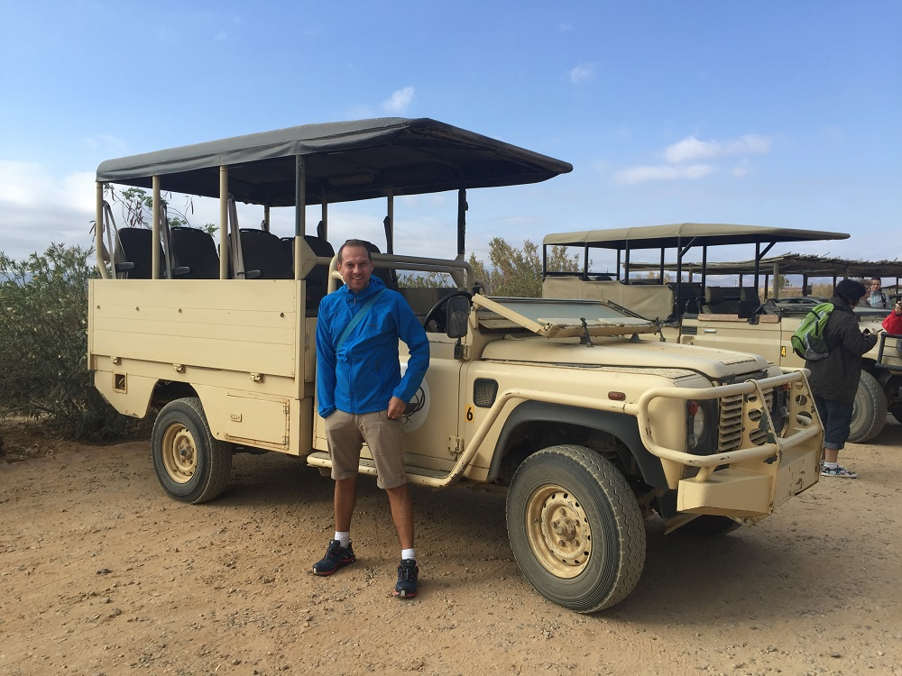 Náš vůz na safari