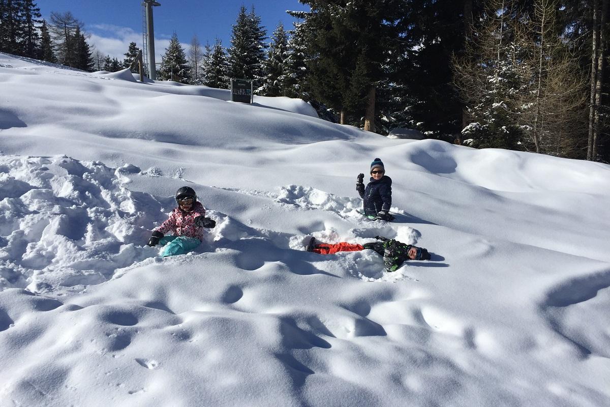 Konečně sníh