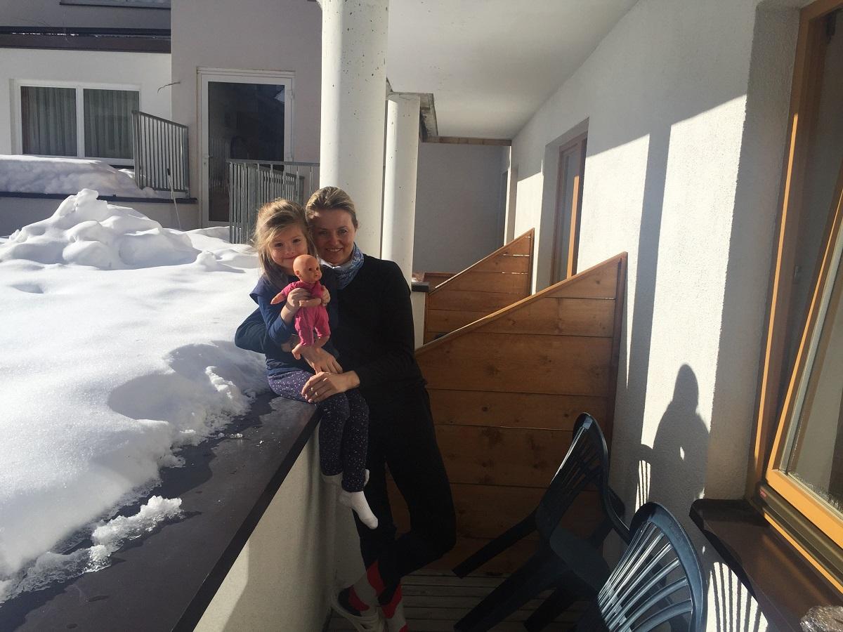 Pohodička na terase