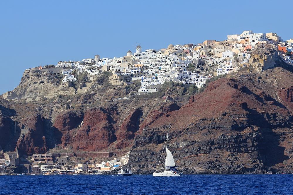 Oia, nejmalebnější městečko na Santorini