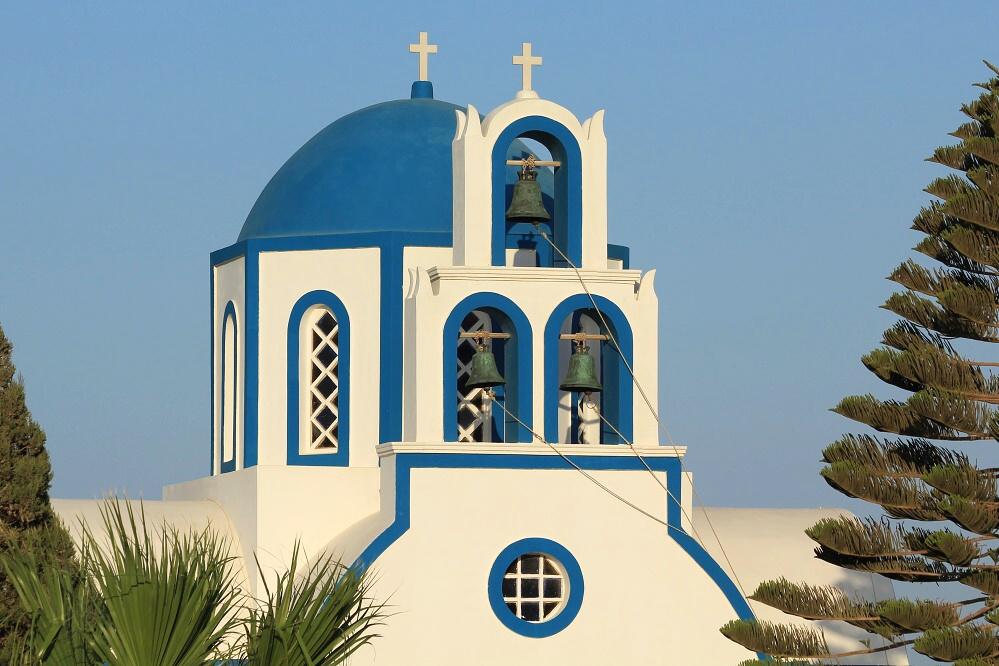 Kostelík v Kamari