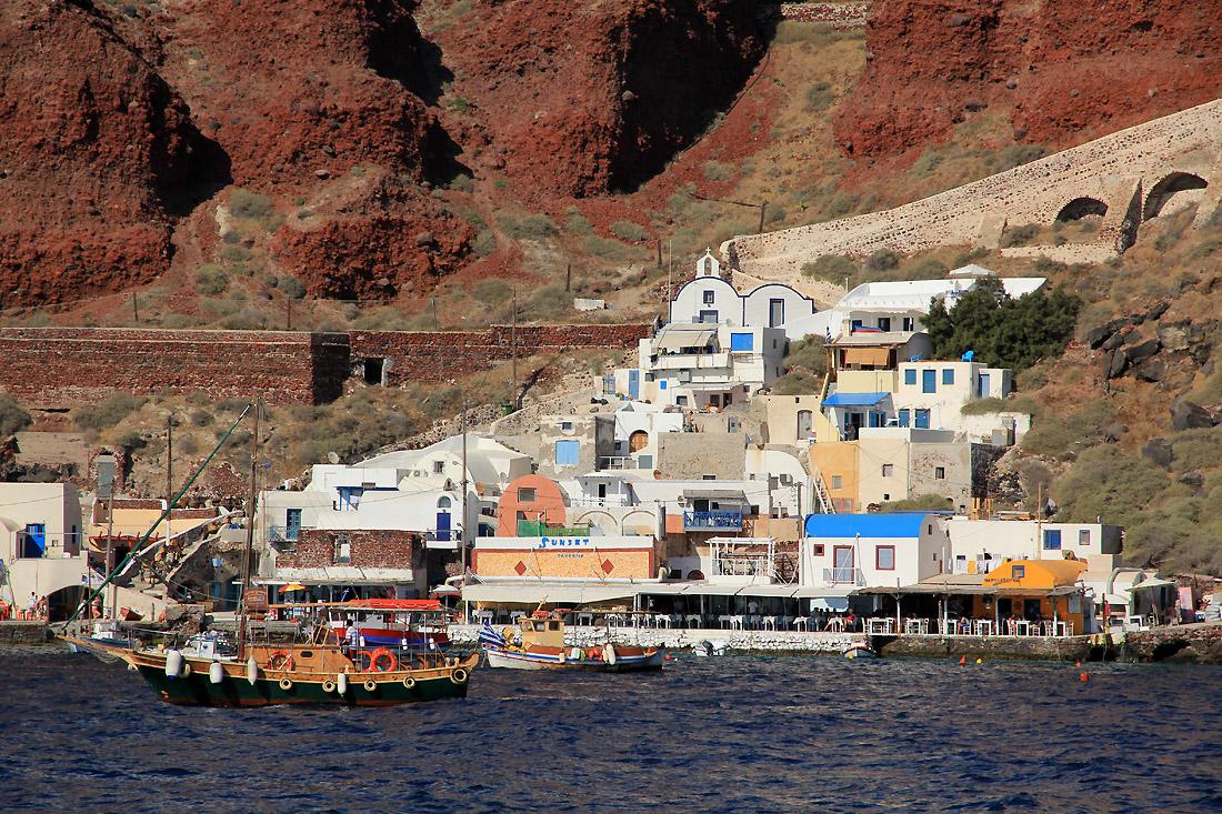 Oia - přístav
