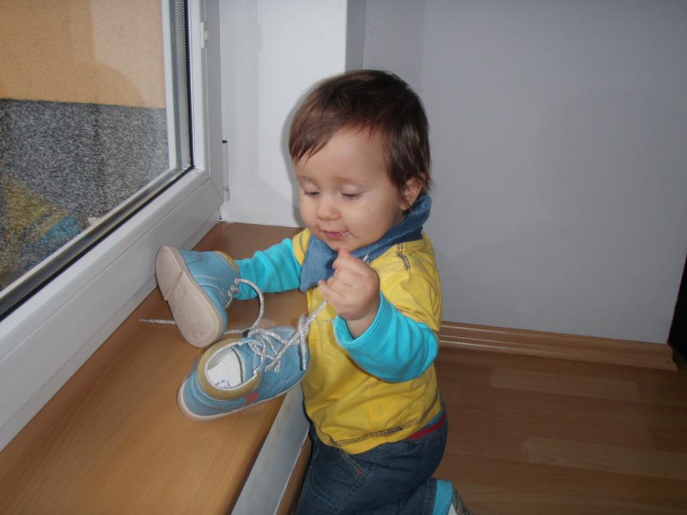 První boty do roboty
