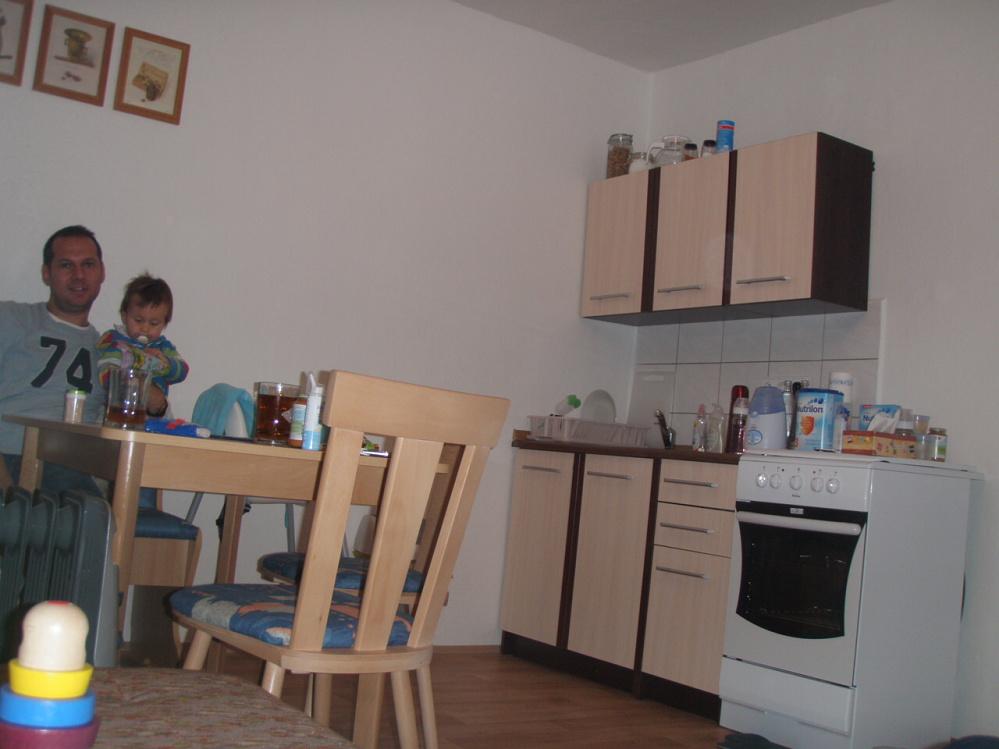 Kuchyň a jídelní kout